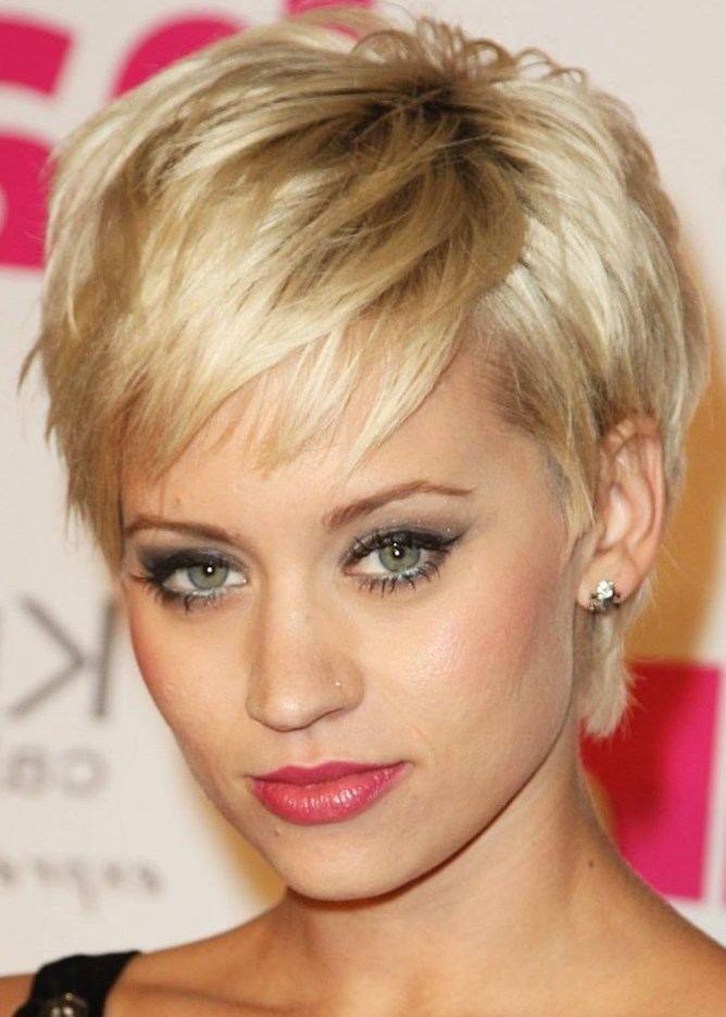 Modele de coupe courte de cheveux pour femme