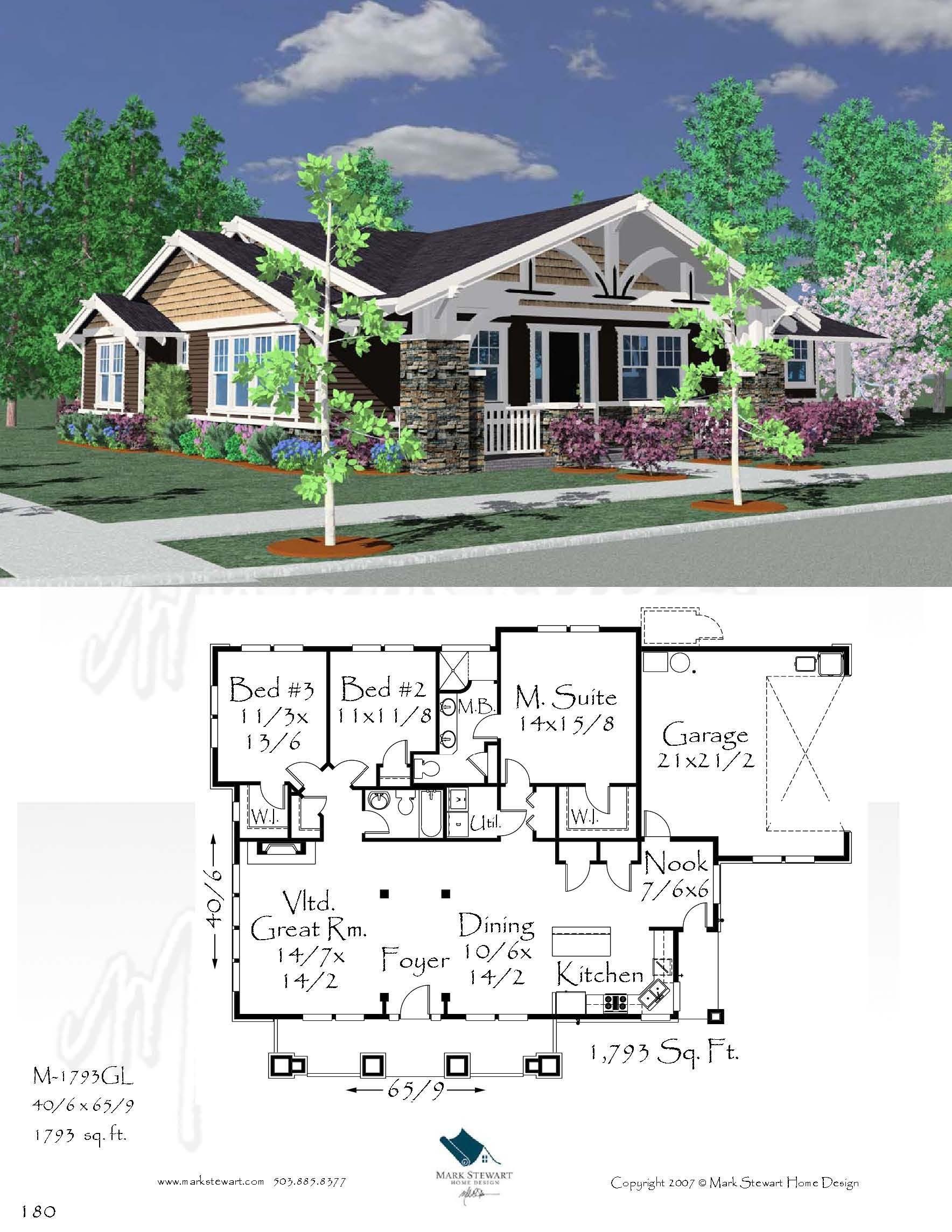 M 1793 Gl House Plan Bungalow House Plans Bungalow House Plans House Design House Plans