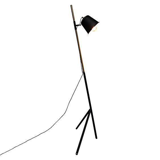Tilted Tripod Floor Lamp by Fat Shack Vintage