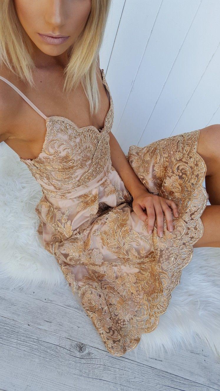 Gold Dress Loving At Amaroso Boutique White Tan And Gold Formal Dresses Long Dresses Gold Dress [ 1328 x 747 Pixel ]