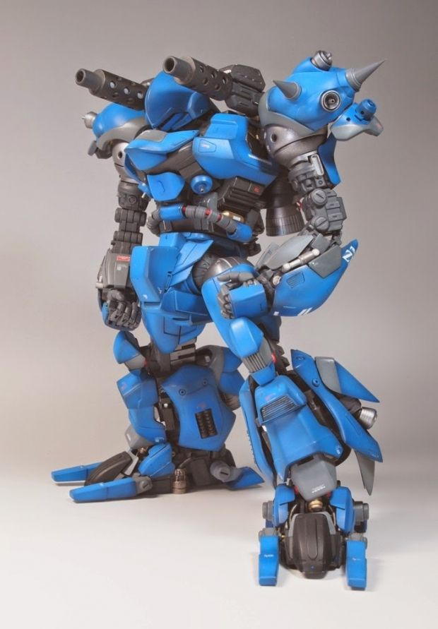 MG 1/100 Kampfer 改: Amazing Remodeling Work by itto