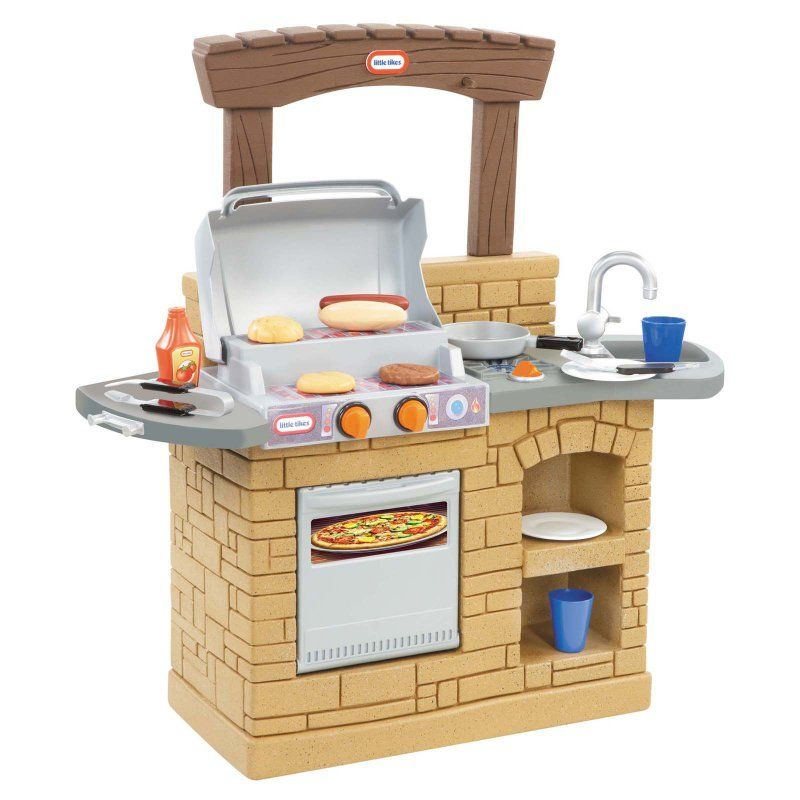 Little Tikes Cook and Play Outdoor BBQ - 633911M | Outdoor ...