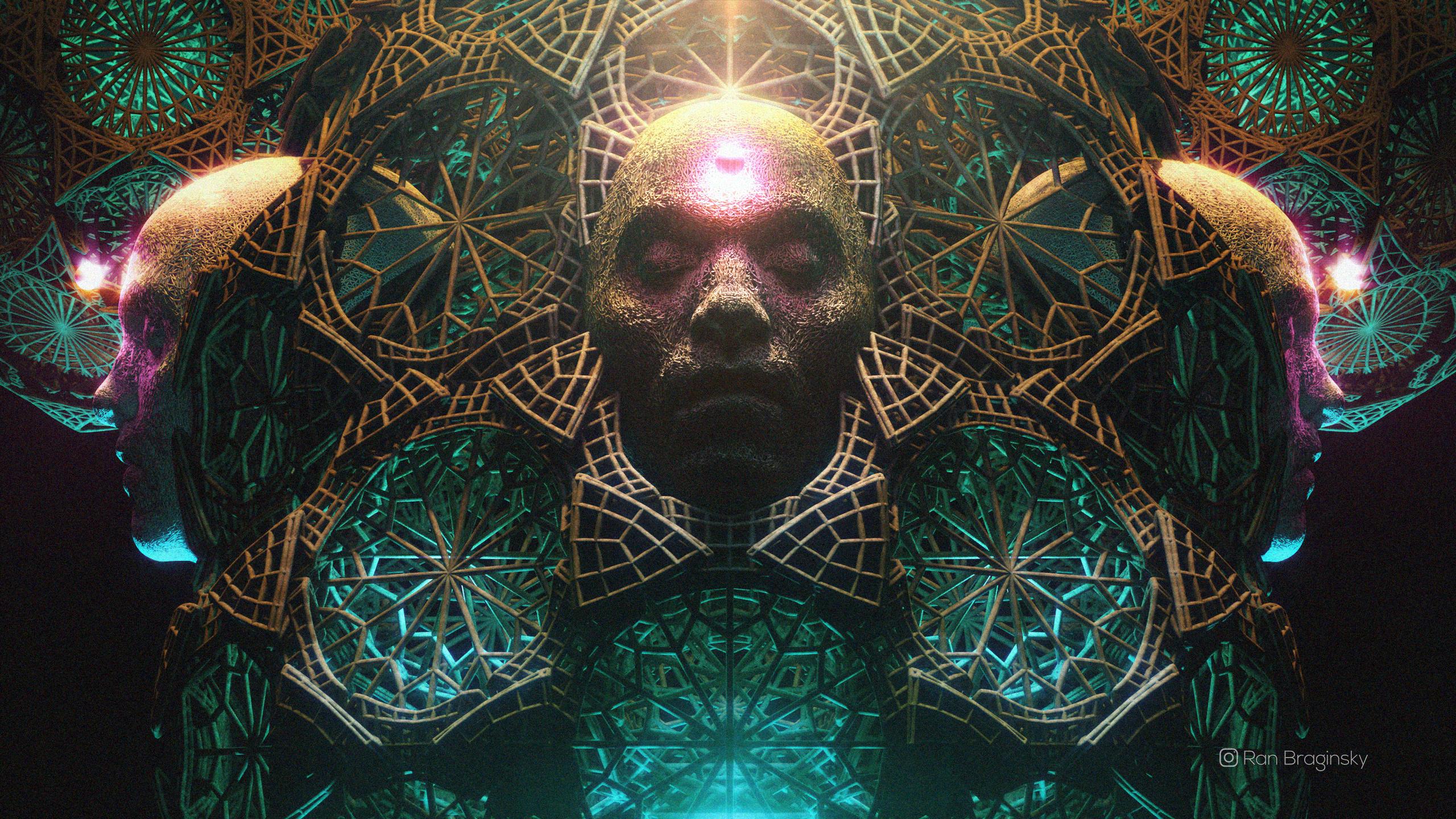 A Tool Inspired Artwork I Created 2560 X 1440