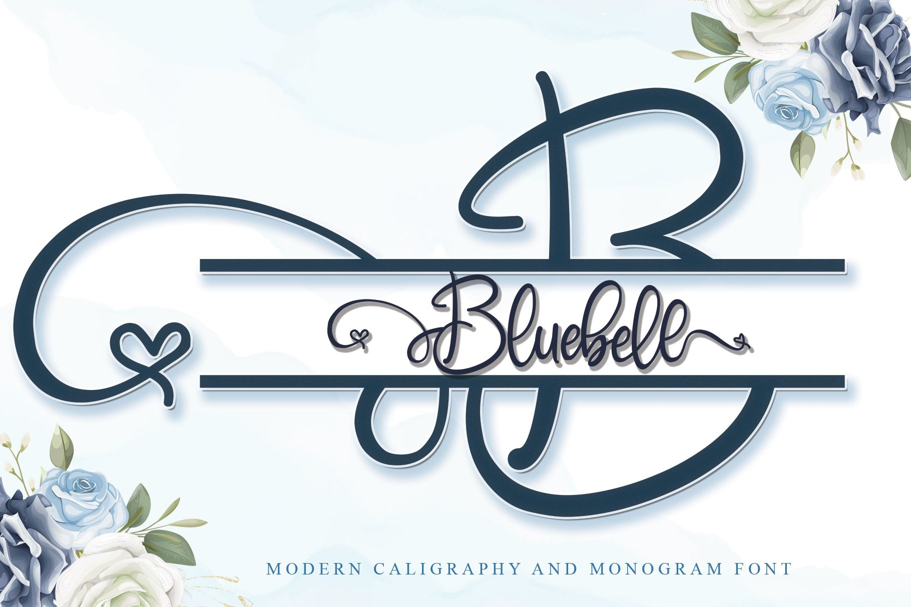 Download Bluebell (Font) by thomasaradea · Creative Fabrica in 2020 ...