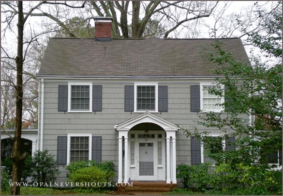 Best Colonial With Gray Shingle Siding Shingle Siding 640 x 480