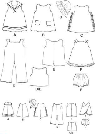Doll Clothing Template Amazon Com A Closetful Of Doll