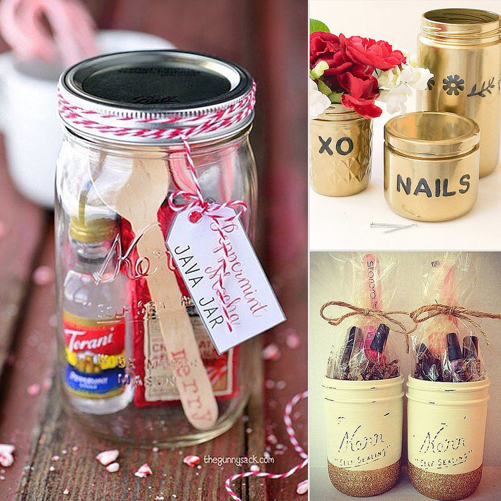 12 diy mason jar gifts that are totally glassy jar gift for Cute mason jar christmas gift ideas