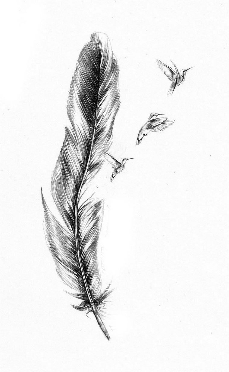 Feather Into Birds Tattoo Meaning 40 Mind Blowing Feather Tattoos Feather Tattoos Blue Jay Tattoo Tattoos
