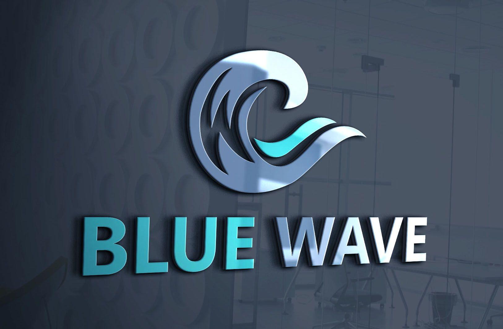 branding Create website, Blue waves, Design working