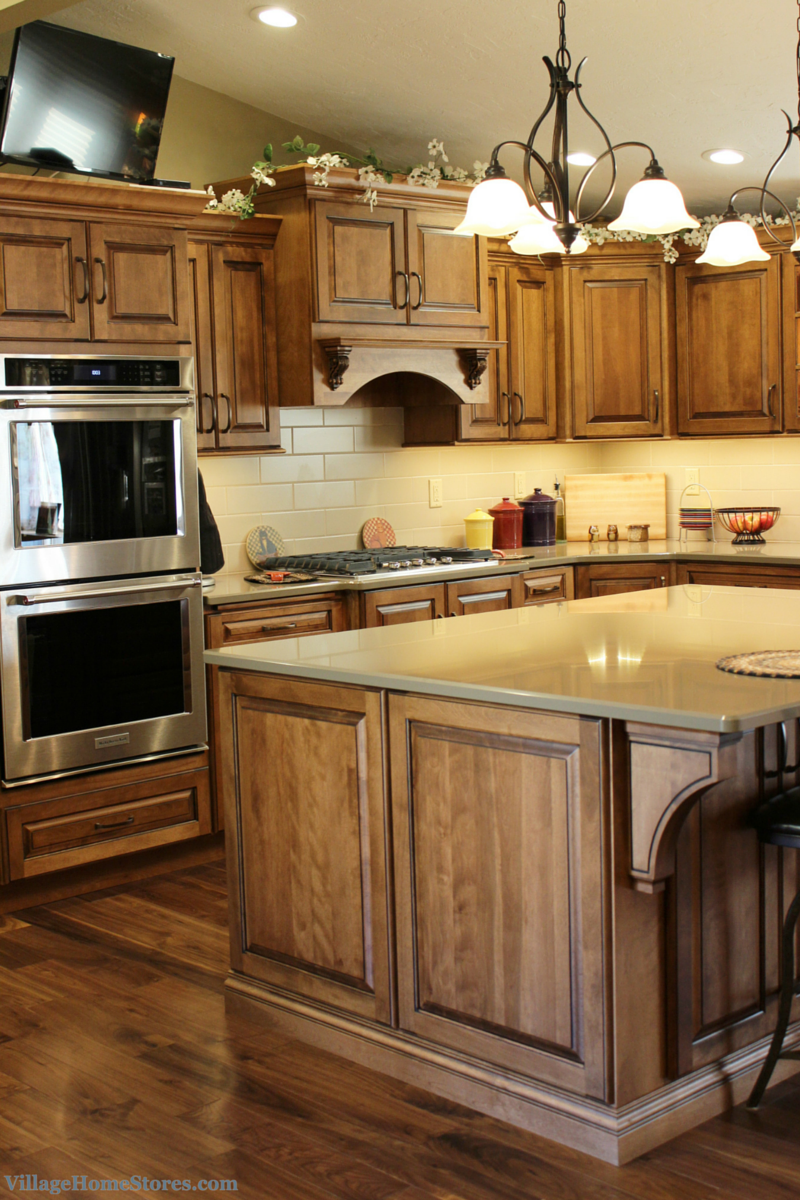 Kitchen Remodel with 3 ovens - Village Home Stores   Birch ...