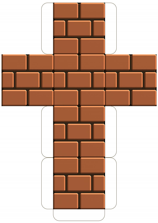 Mario Brick Block Template Pdf Google Drive Mario Bros Party Super Mario Birthday Party Super Mario Bros Party