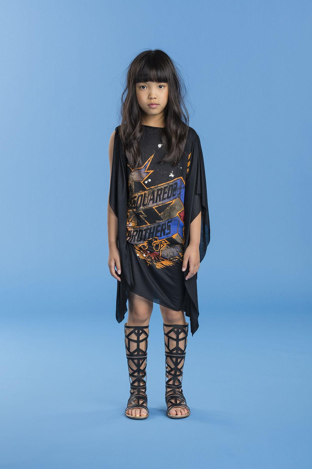 Dsquared2 Spring16 Very Cool Kids Collection Rock Chic Child