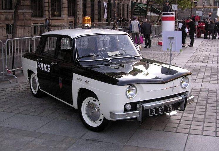1962 Renault 8 Police cars, Cars uk, Emergency vehicles