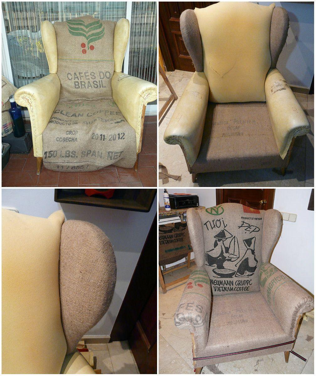 Sillones Original VintageTapicería Tapizado Sillon Orejero txCdrBoshQ