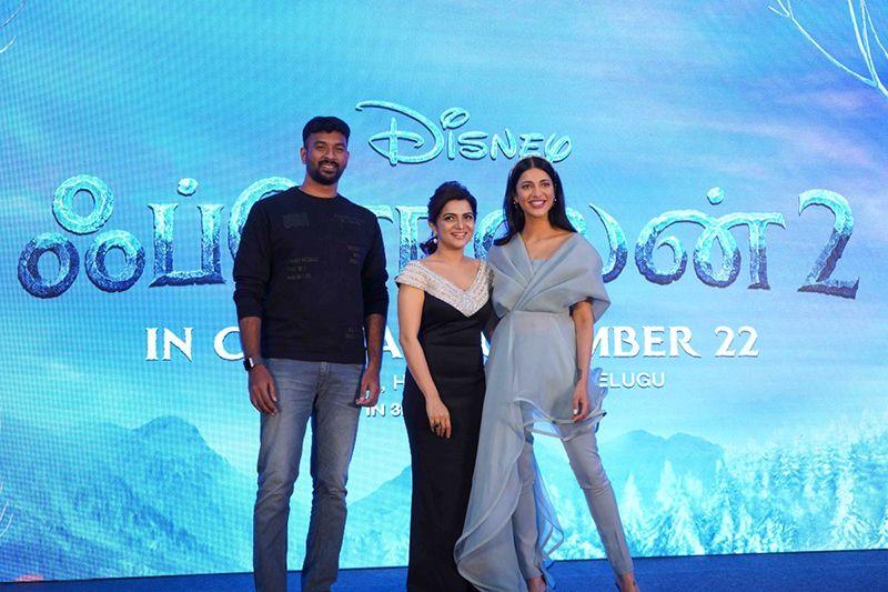 Frozen 2 Tamil Press Meet
