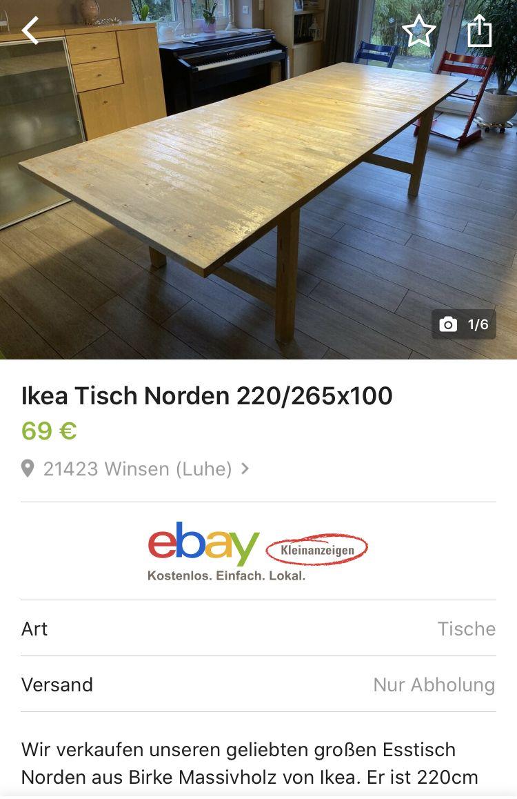 Norden Klapptisch Birke Ikea Deutschland In 2020 Ikea