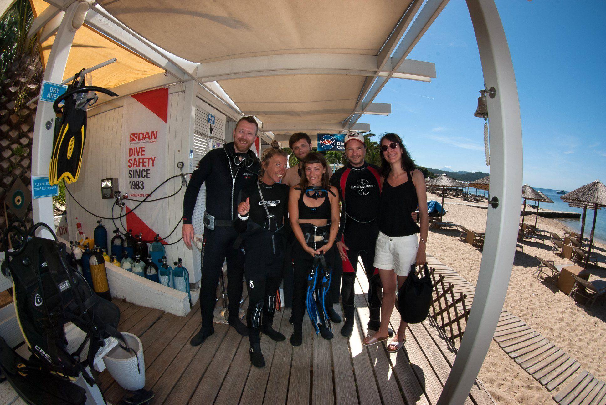 Dream Team Diving Center Halkidiki Halkidiki Greece