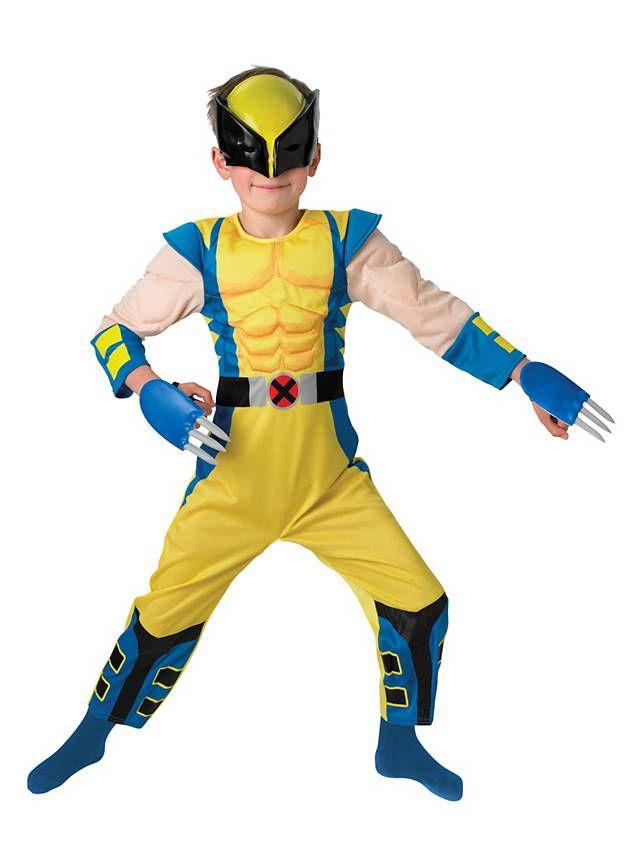 Wolverine Muskelanzug Kinderkostüm #muscle #suit #kids #costume #kostüm #verkleidung #stählernde #klingen #fingerknöchel #einziehbare #scharf #kind #kinder ...  sc 1 st  Pinterest & Wolverine Muskelanzug Kinderkostüm   Costumes