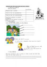English worksheet: Charlie and the Chocolate factory: family ...