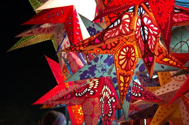 Christmas Decorations Goa Style Christmas Decorations American Christmas Traditions Paper Star Lanterns