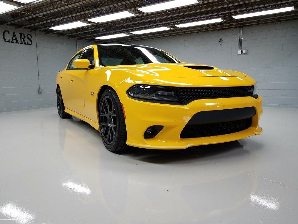 dodge charger scat pack yellow 2 Dodge Charger Scat Pack 2 Yellow Jacket  Dodge charger
