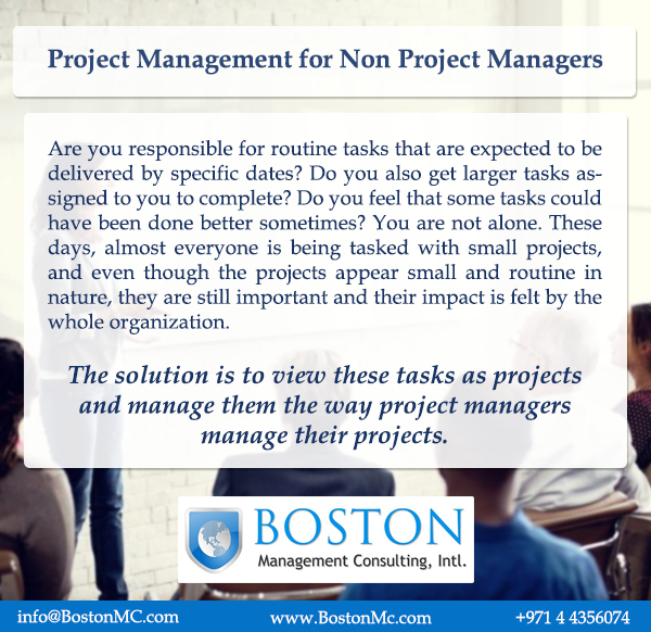 Project Management For Non Project Managers Training Course In