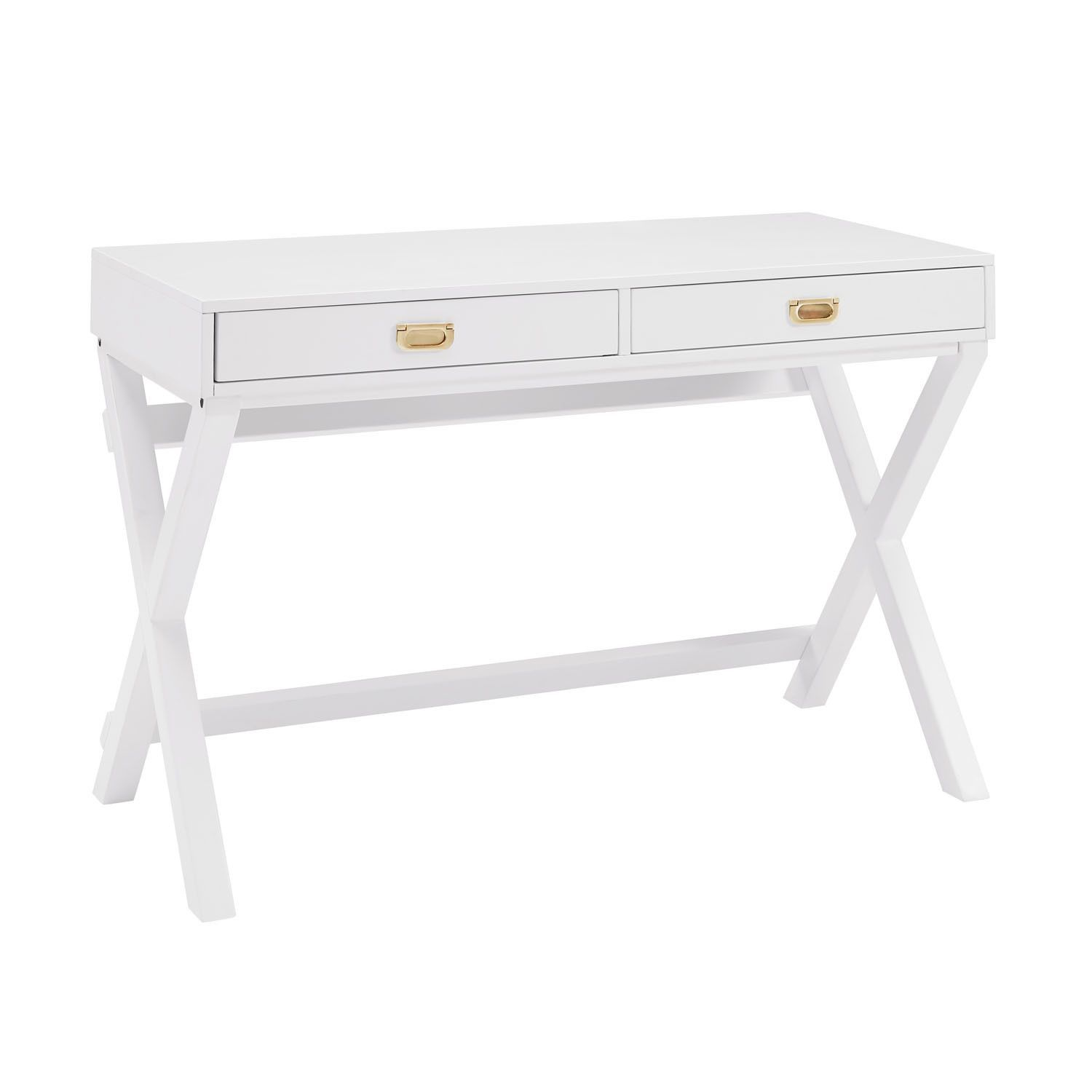 Poppy White Writing Desk White Writing Desk Wooden Writing Desk