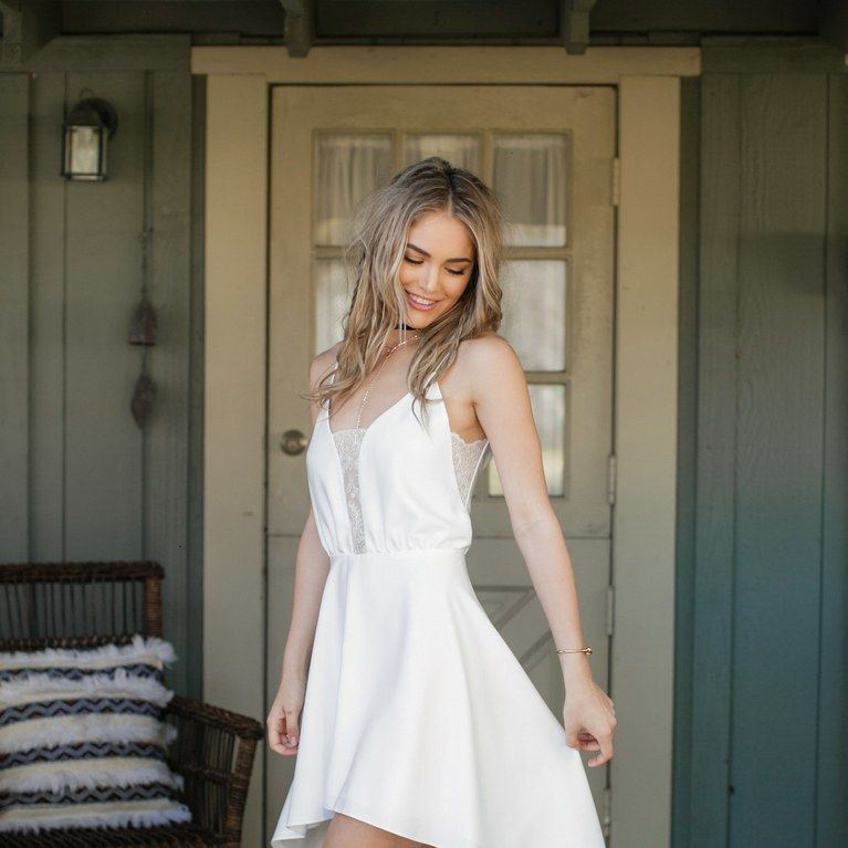 Rime Arodaky s New Bridal Collection Will Have You Rehearsal Dinner Ready    Brides.com eea7b20d712