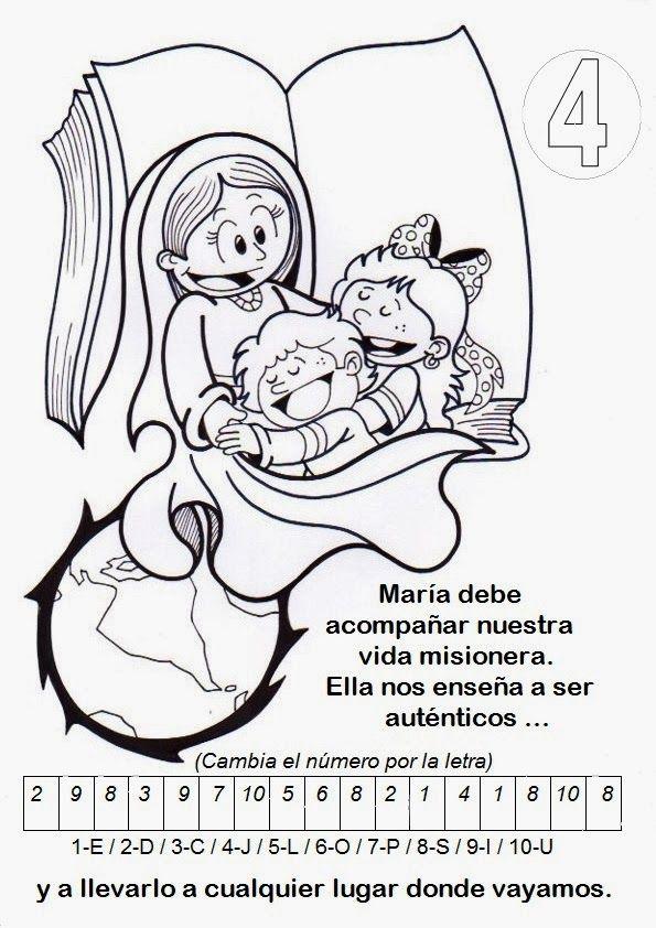 El Rincón de las Melli: Decálogo del niño misionero   misioneros ...