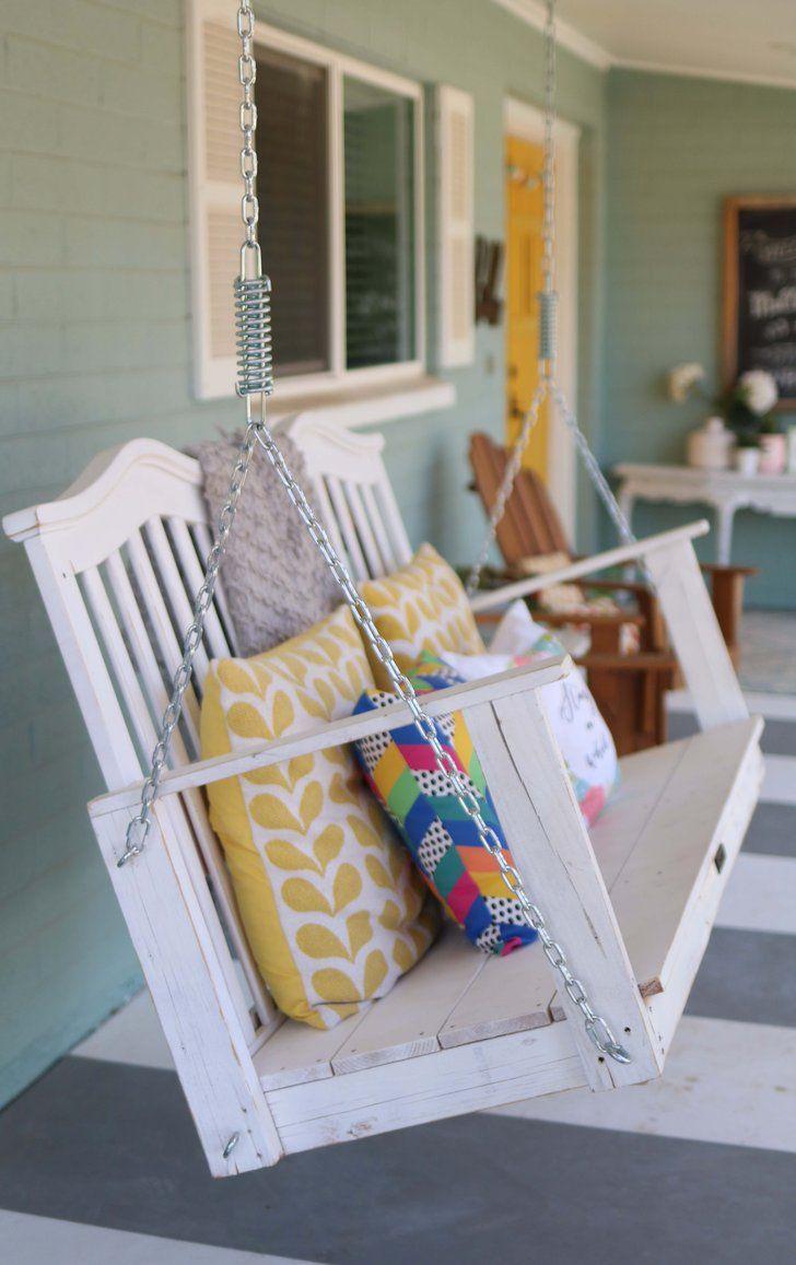 stylish ways to repurpose your crib repurpose crib and outdoor