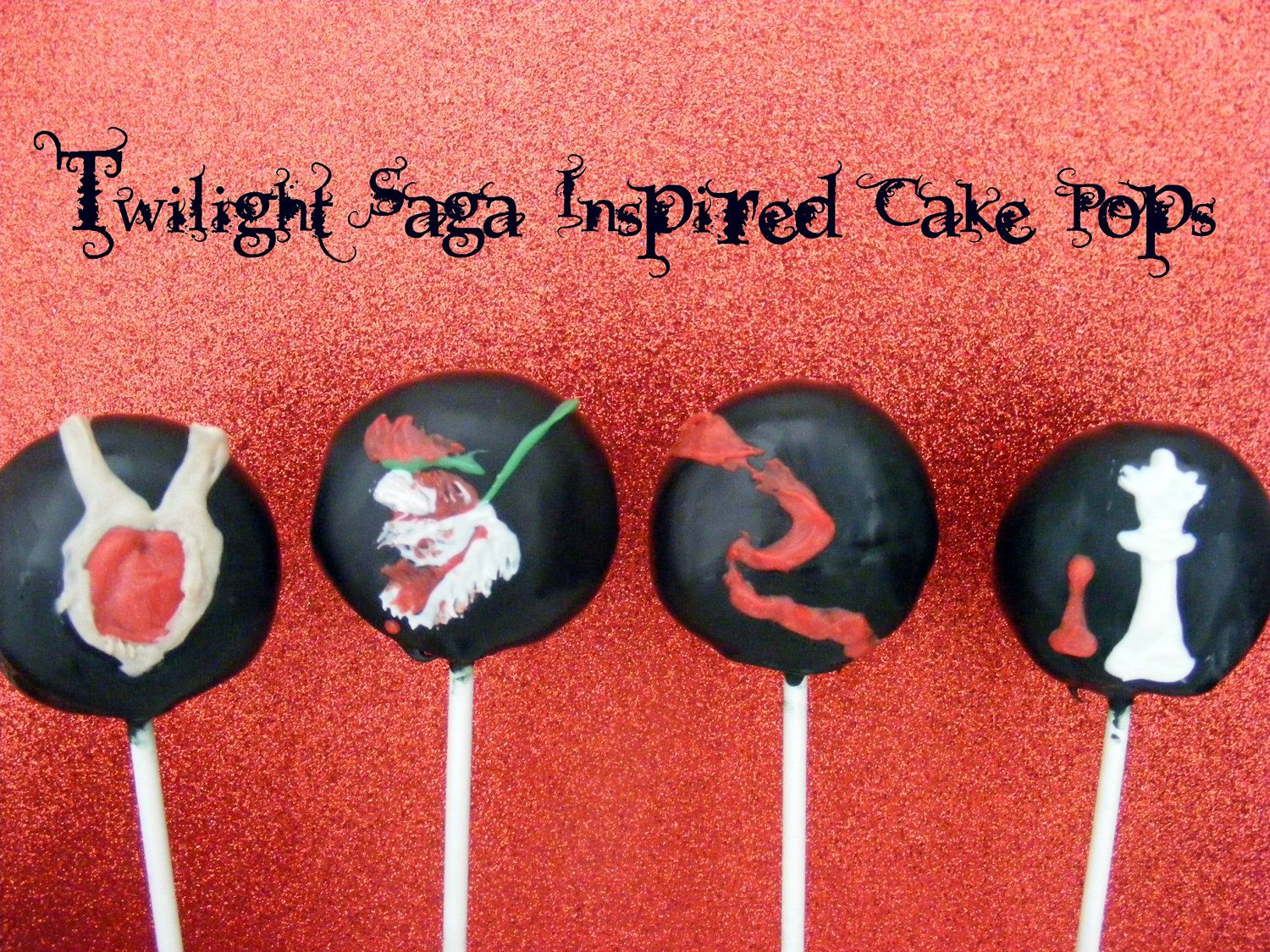 Twilight Cake Pops Yes I Like Twilight