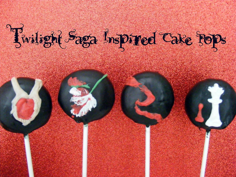 Twilight Cake Pops Yes I Like Twilight