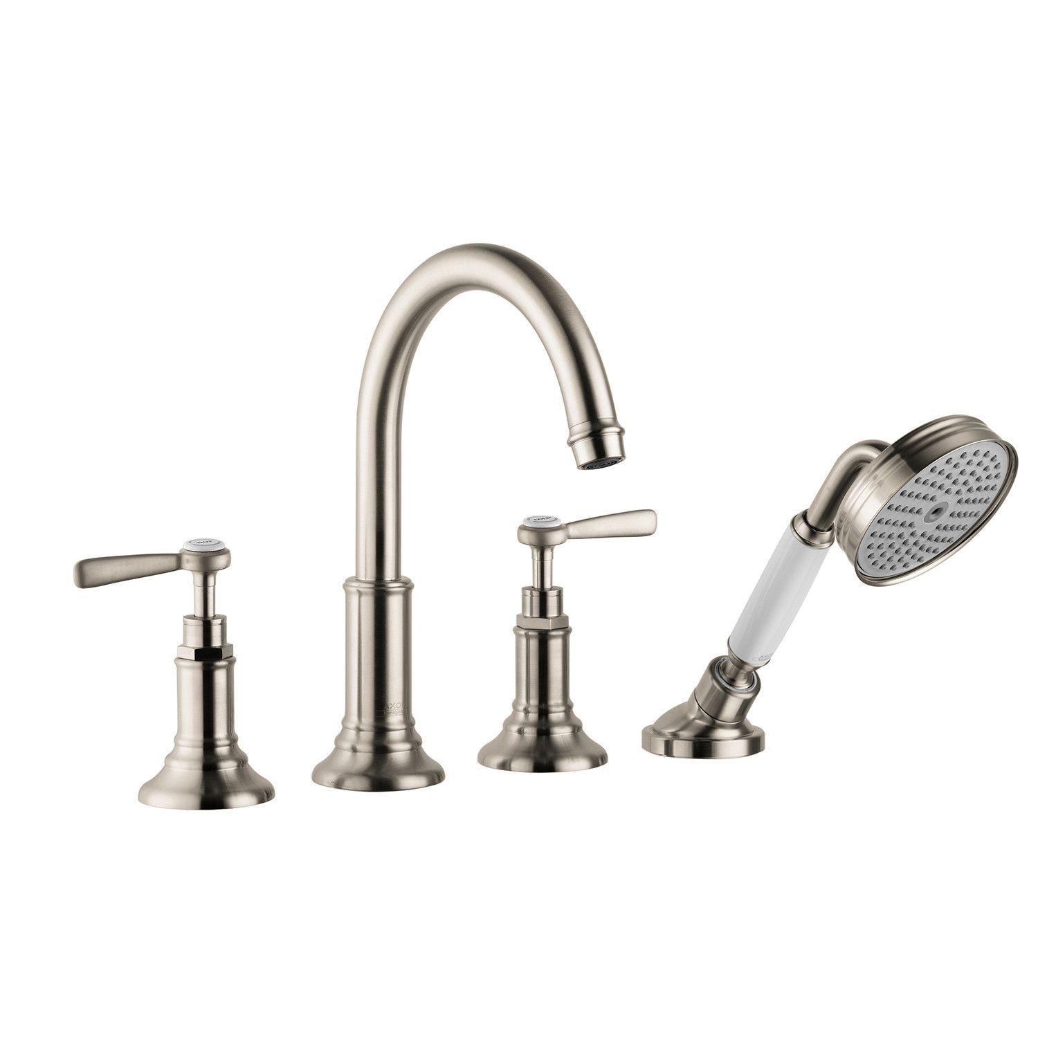 Roman Tub Spout With Diverter. Hansgrohe 16550821 Brushed Nickel Axor Montreux Roman Tub Filler Faucet  Deck Mounted with Diverter Metal