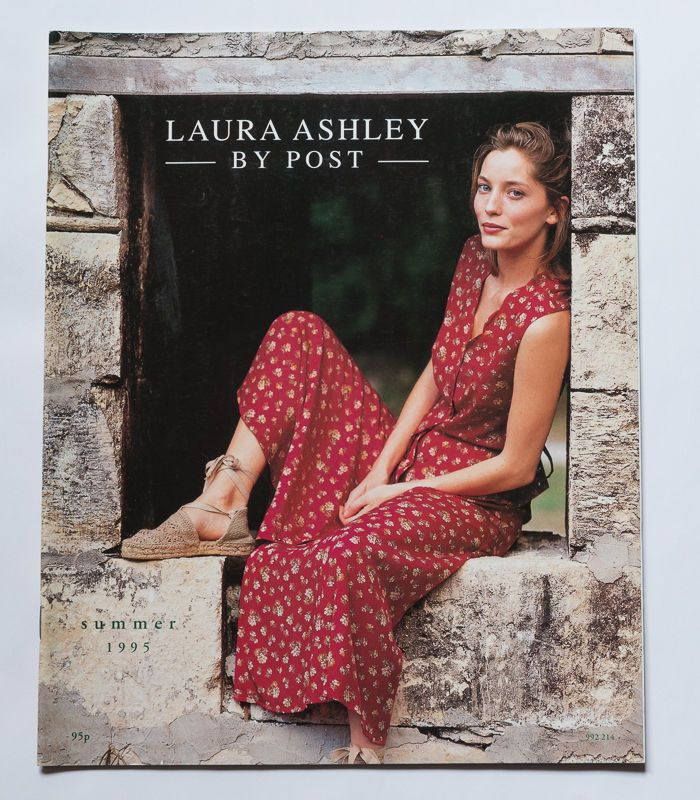 vintage laura ashley by post 1995 summer fashion catalogue. Black Bedroom Furniture Sets. Home Design Ideas