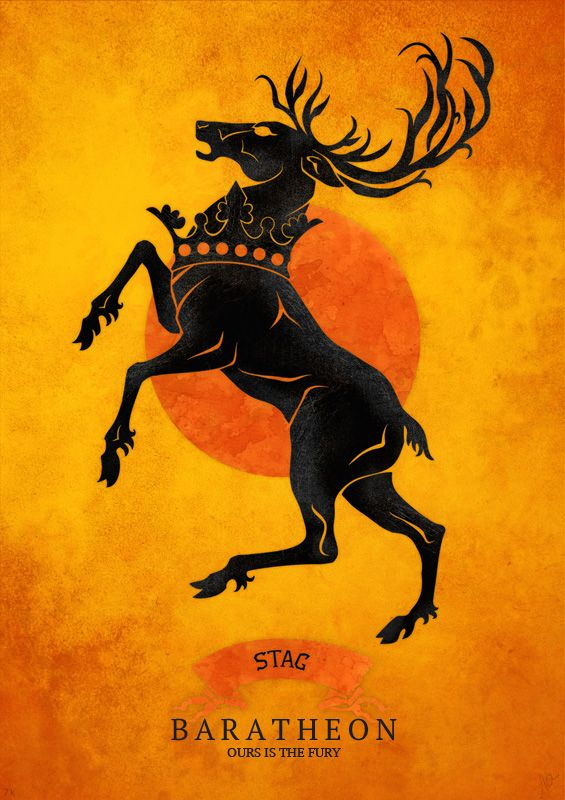 house baratheon a song of ice and fire