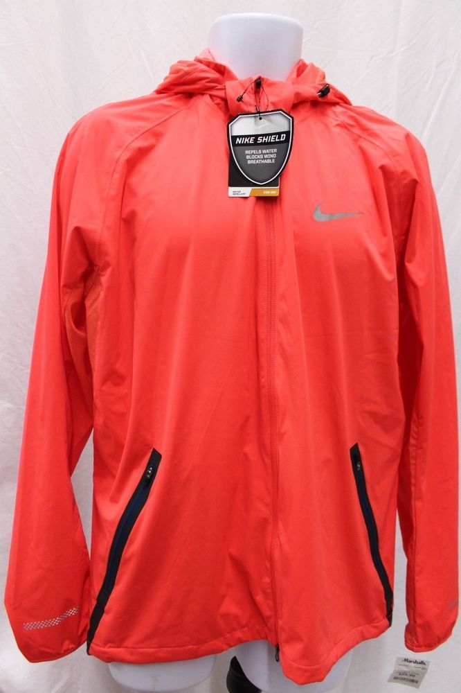 cef2cdd4fc94 Nike Men s Shield Light Running Jacket Waterproof Windbreaker MSRP  200 NEW