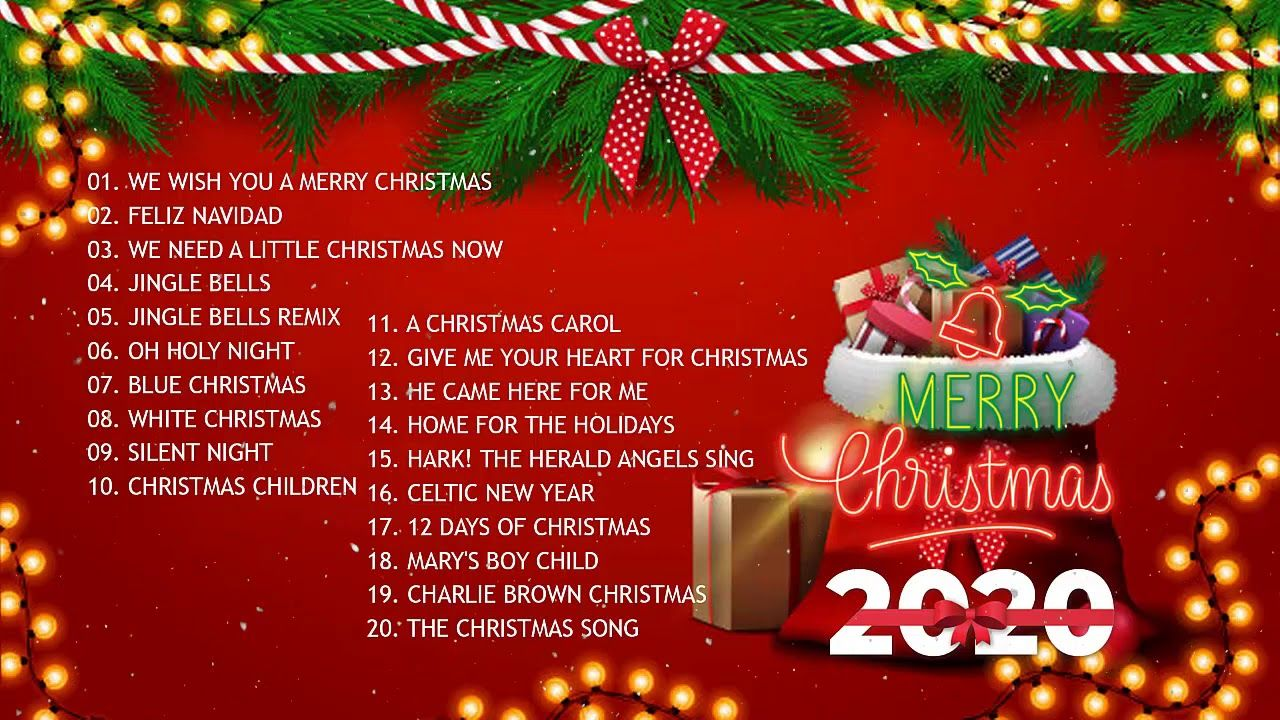 Christmas Music 2020 🎅 Top Christmas Songs Playlist 2020 🎄 Best
