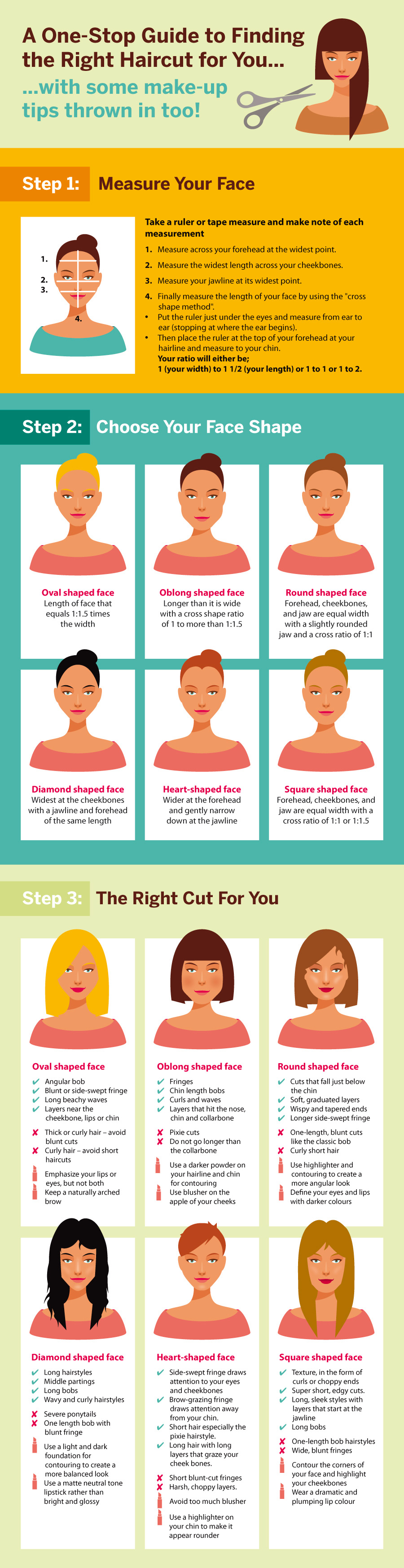 Knowing Your Face Shape Can Be So Helpful When Choosing A Hairstyle