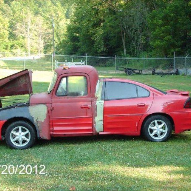 Hillbilly car | Strange car | Car mods, Cars, Car fails