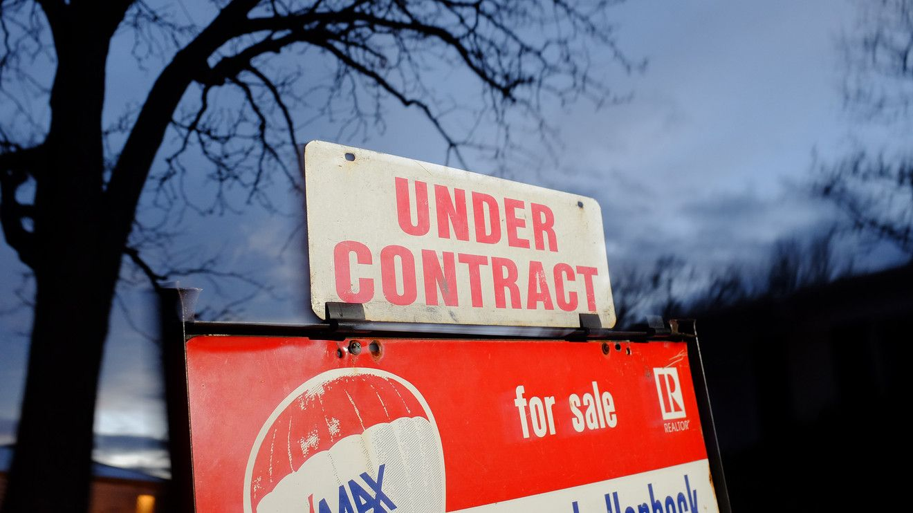 Pending Home Sales Fall Due To Dwindling Supply  Signed Contract
