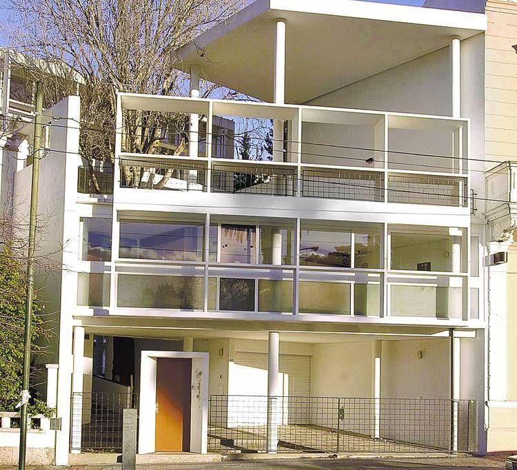 Casa curuchet la plata arquitectura moderna argentina - Le corbusier casas ...