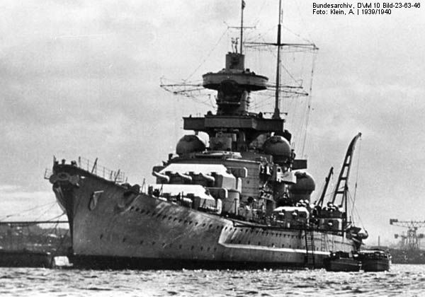 Scharnhorst: German Battleship of WWII | Warships ...