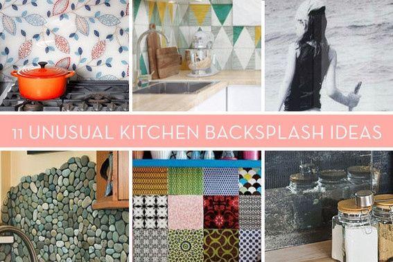Eye Candy 11 Totally Unique Diy Kitchen Backsplash Ideas Diy Kitchen Backsplash Backsplash Diy Kitchen