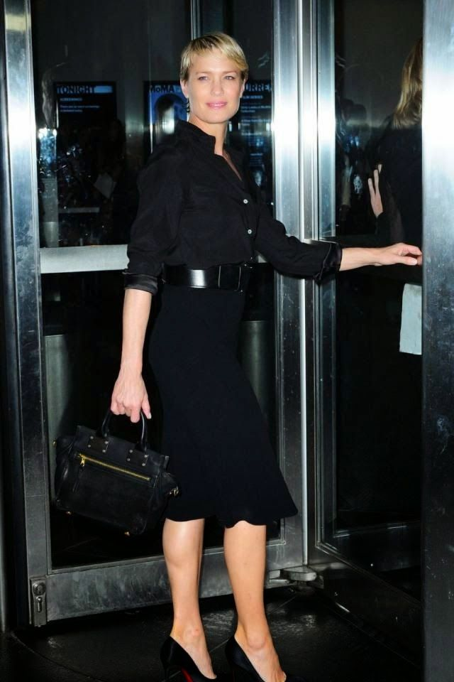 Strict Style Robin Wright S House Of Cards Wardrobe Passage Des