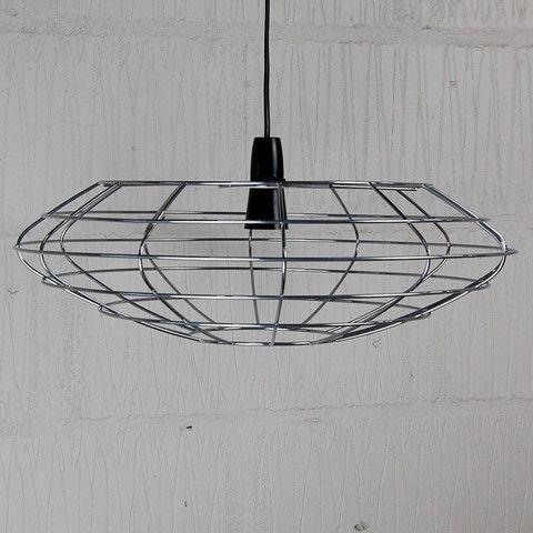 Bessemer Vintage Pendant Cage Light