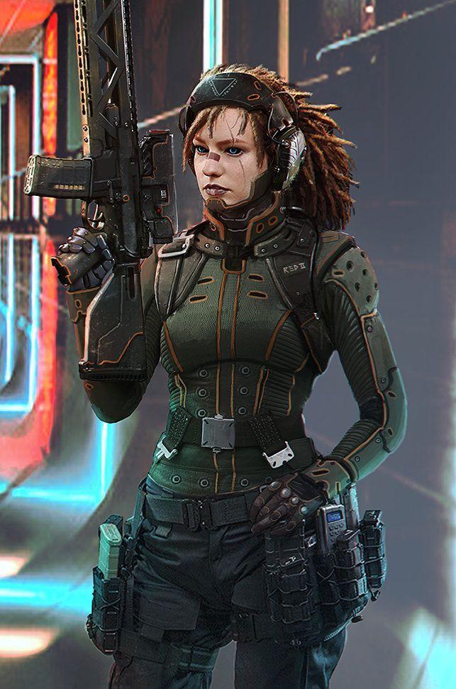 Pin by Samir on Sci-fi in 2019   Cyberpunk, Cyberpunk ...