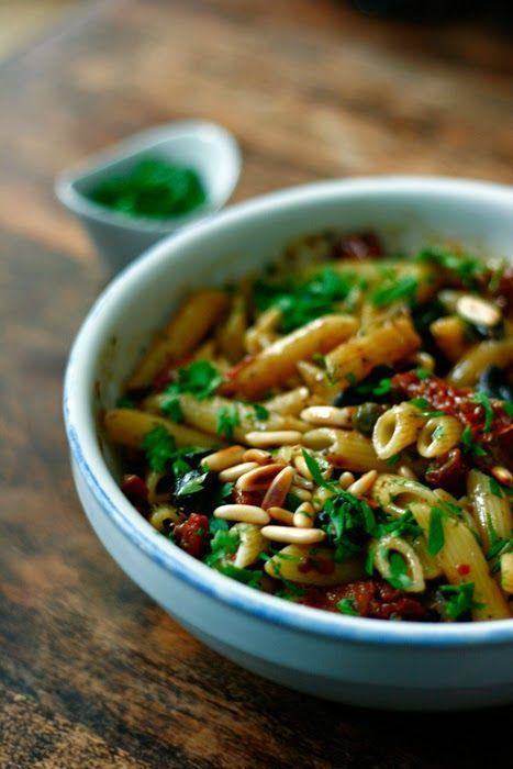 Antipasti-Nudelsalat | Rezept | Rezept | Food, Salad und ...