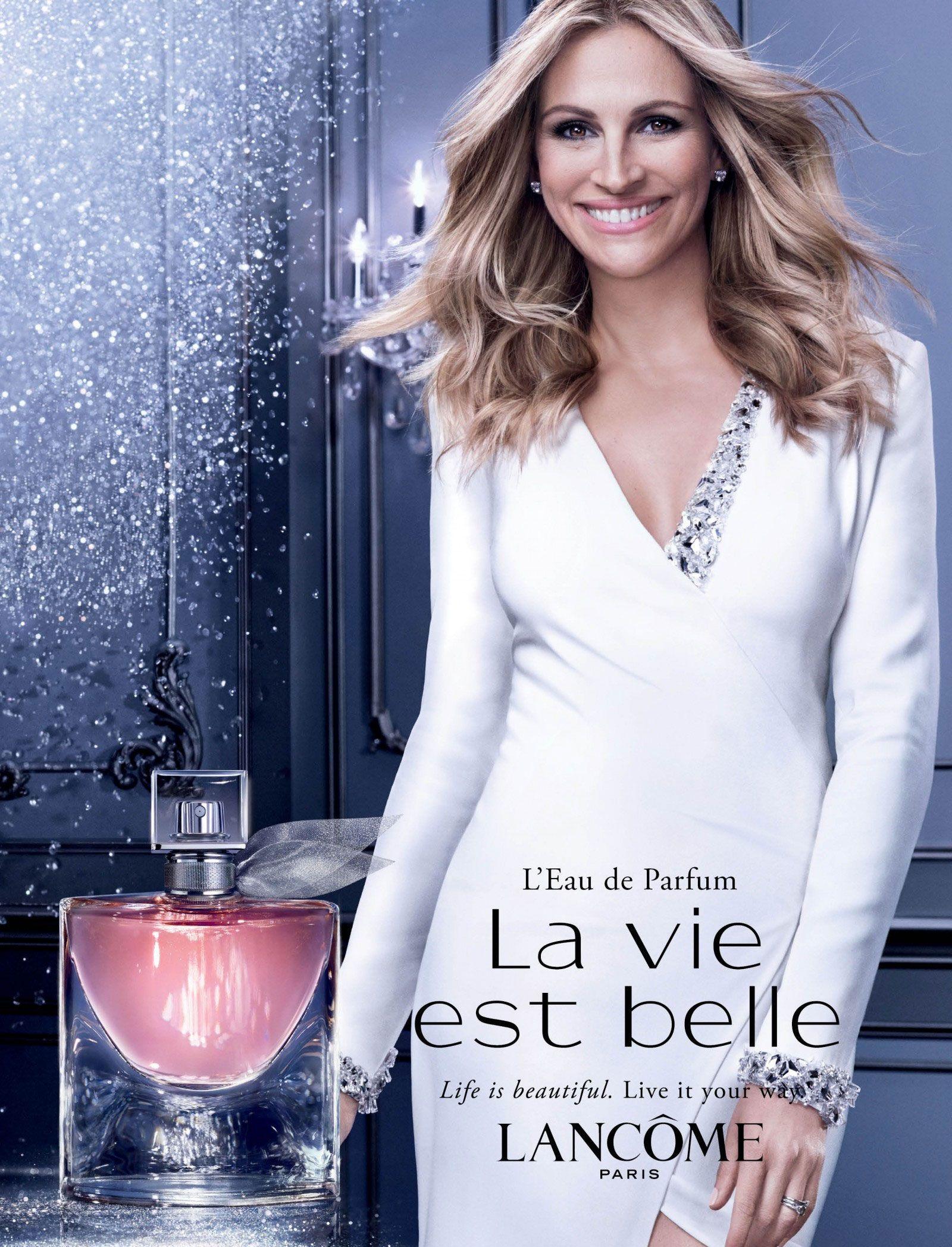 Julia Roberts Lancome Ad 2016 La Vie Est Belle L'Eau de ...