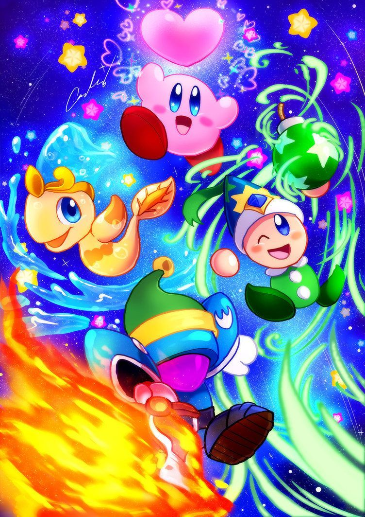 Kirby Star Allies by on