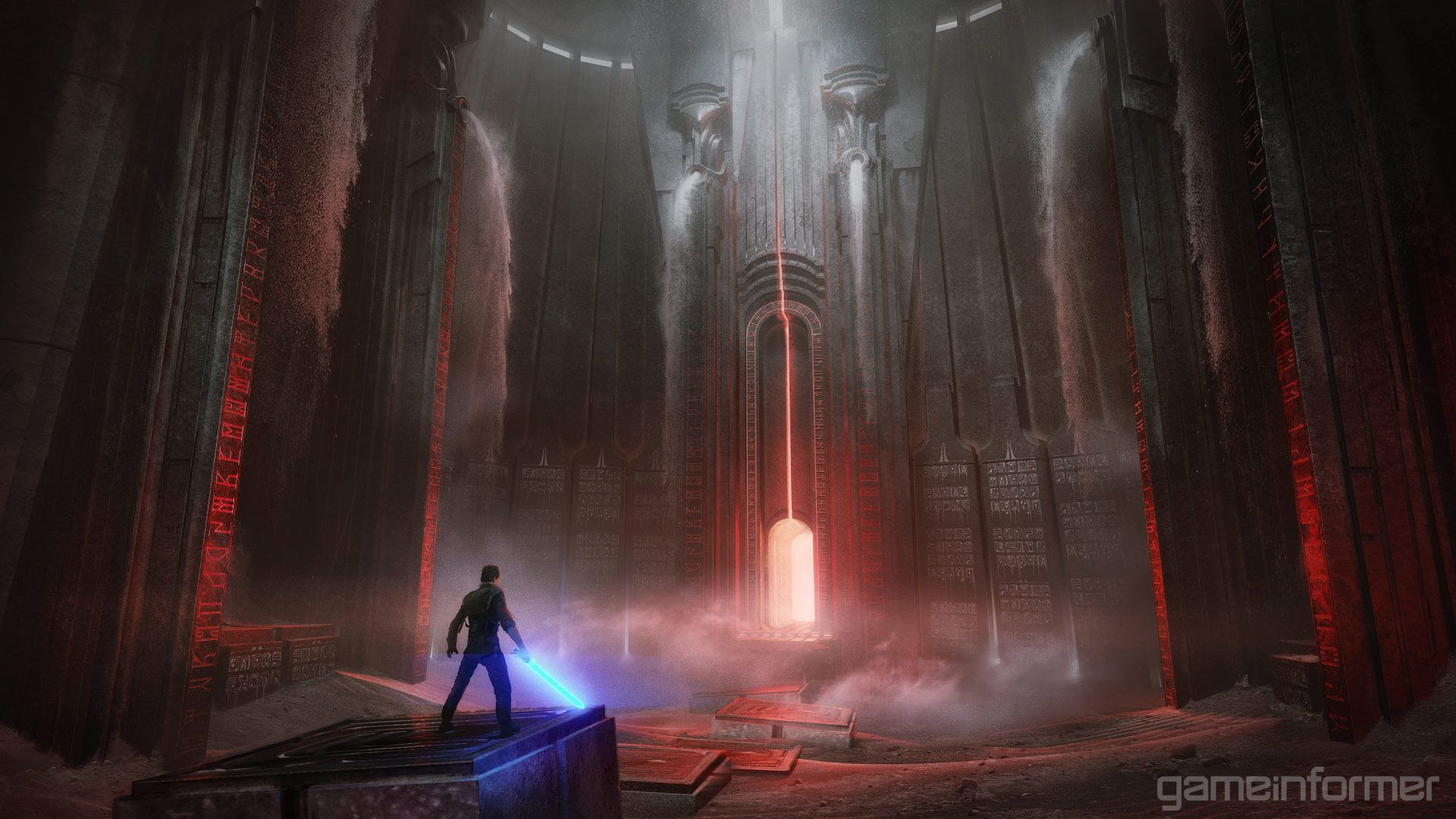 The True Power Of The Force Game Informer Concept Art Star Wars Jedi Sith